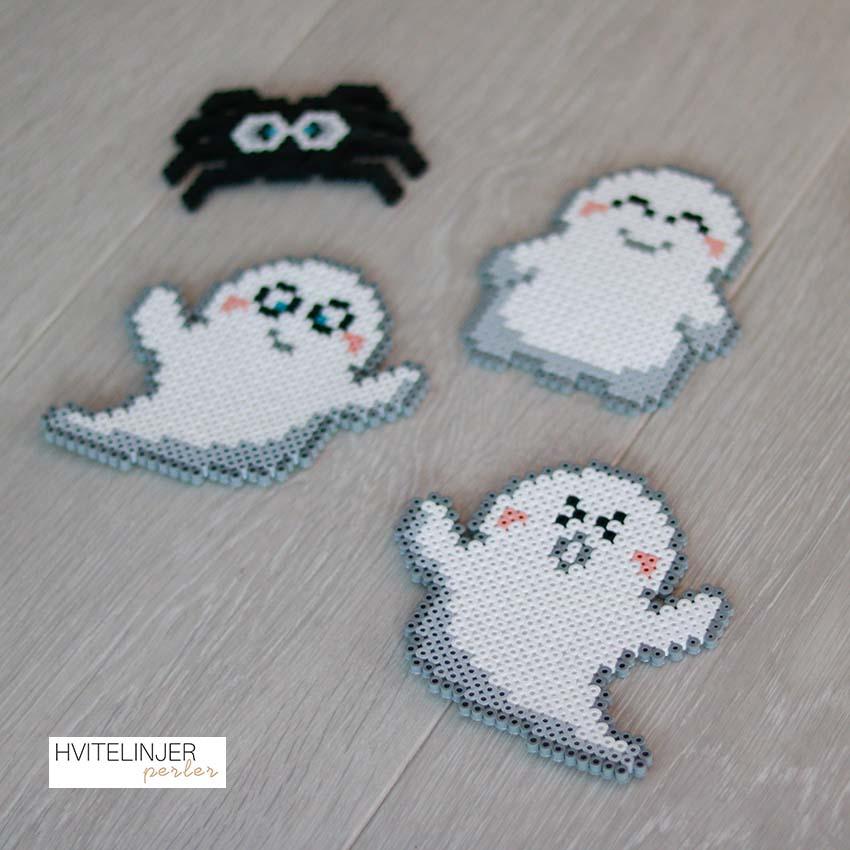 De tre snille spøkelsene - Perlemotiv