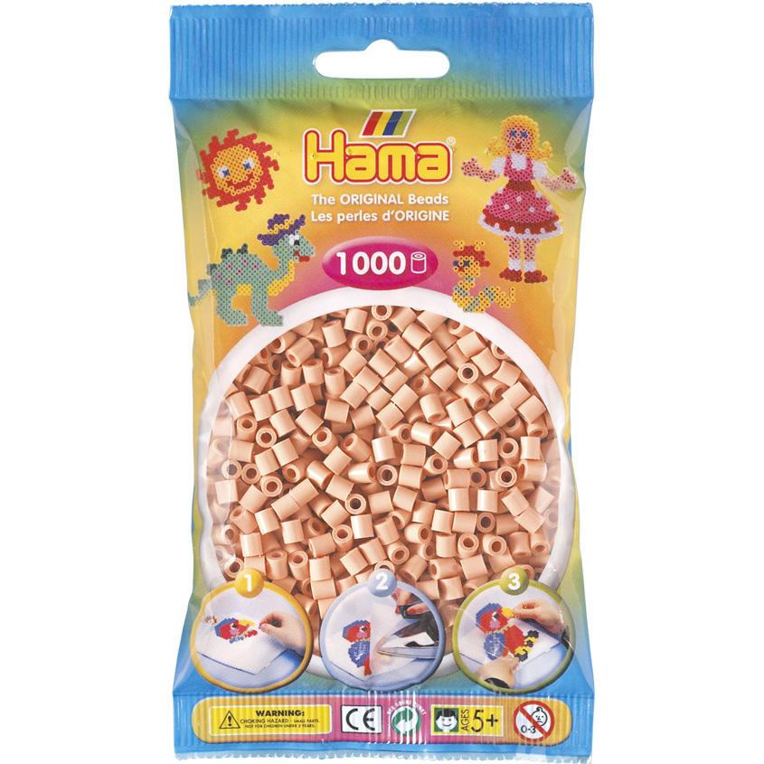 Hama Midi Perler - Flesh / Matt Rose (1000 stk)