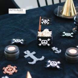 Sjørøver dekorasjoner - Perlemotiv