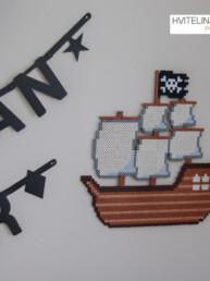 Sjørøverskip - Perlemotiv