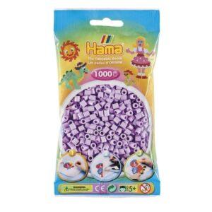 Hama Midi Perler - Pastel Lilac (1000 stk)