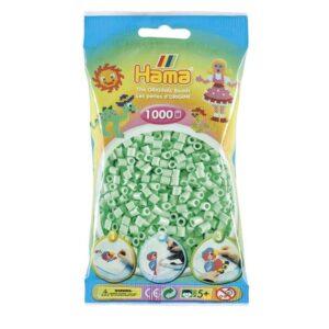Hama Midi Perler - Pastel Mint (1000 stk)