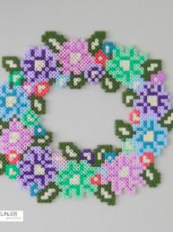 Blomsterkrans - Perlemotiv